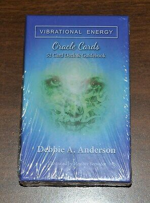 Vibrational Energy Oracle Cards Tarot Deck - Debbie Anderson - NEW SEALED