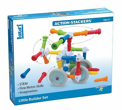 PlayMonster Lauri Action-Stackers - Little Builder Set