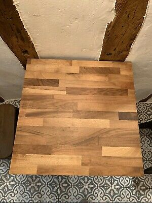 4 Square Solid 60cm X 60cm Wood Oak Walnut Table Tops. Restaurant Cafe Bar Hotel