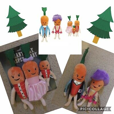 Official Kevin the Carrot, Katie and Family Aldi 2019
