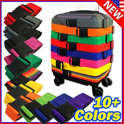 Lot Travel Luggage Suitcase Strap Belt Baggage Backpack Bag Package TSA
