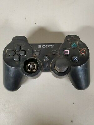 PS3 playstation Wireless Controller missing joystick untested