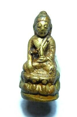 Old Genuine Thai Amulet Buddha Southeast Antique Phra Kring Wat Suthat