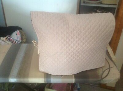 """Padded Sewing Machine Dust Cover. Approx 27"""" X 16"""""""