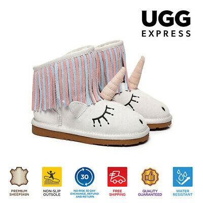 Ugg Australia Sheepskin Kids Mini Boots Unicorn
