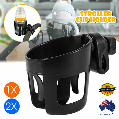 1/2x Bottle Drink Universal Stroller Cup Holder Bike Bag Baby Pram Water Coffee