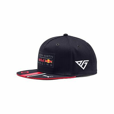 2019 Aston Martin Red Bull Racing Gasly Kids Flat Brim Cap NEW