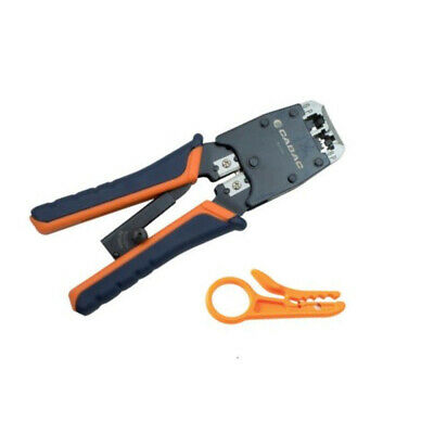 CABAC PREC.Crimper for RJ12/RJ45 C/W Stripper