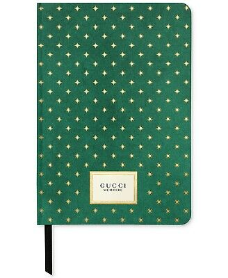 Gucci Memoire d'une Odeur Limited Edition Journal Note Book Green/Gold SEALED