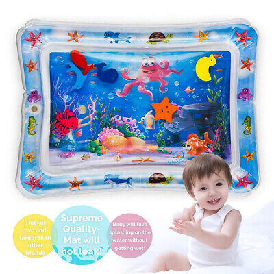 Baby Water Play Mats Tummy Time Inflatable Water Mat MattressToddlers Infants