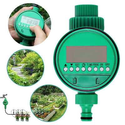 Automatic Water Timer Irrigation Controller Digital Garden Watering Tap Timing