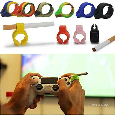 Silicone Cigarettes Holder Ring Pipes Finger Hand Ring For Smoking Accessories