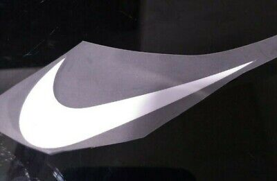 3Pcs Nike Swoosh 2.7 inches Wide 1 inch Tall iron on Sports Logo