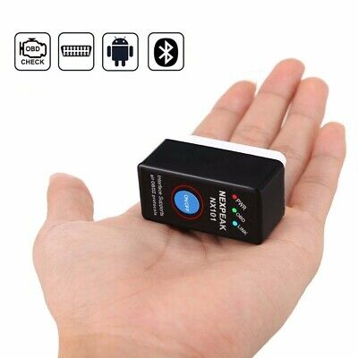 Super Mini Elm327 Bluetooth OBD2 V1.5   OBD V2  Diagnostic-Tool Scanner Car AU