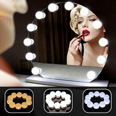 Hollywood Style LED Lampes Lumières pour Mirroir Maquillage 10 Ampoules