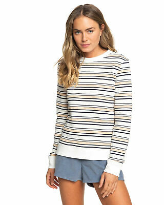NEW ROXY™  Womens First Place Crew Jumper Womens Fleece