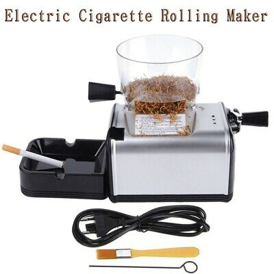 8mm Cigarette Rolling Machine Electric Automatic Injector Tobacco Roller Maker