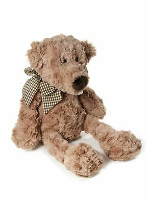 Mousehouse 32cm Very Soft Traditional  Brown Plush Teddy Bear Soft Toy