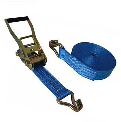 Heavy Duty 50mm Ratchet Strap with Claw Hook - 5000kg MBS - 6 / 10 Metre Length