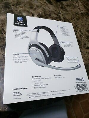Rand McNally Cleardryve 200 2 in 1 Premium Noise-canceling Headset w/ Bluetooth