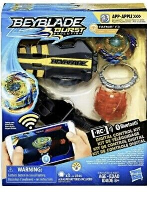 Beyblade Burst Evolution Digital Control Kit Fafnir F3 Orange Have For Xmas