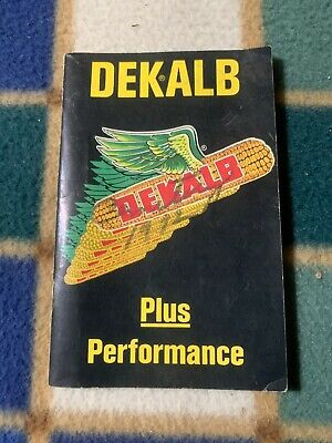 VINTAGE DEKALB CROP FACTS GUIDE FARMER/'S POCKET LEDGER OR NOTEBOOK