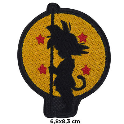 Toppa Dragon Ball dragonball goku cartoon iron patch ricamata termoadesiva