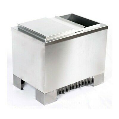 """NEW Taprite 60 LBS ICE CHEST 15x22"""" Free-Standing Post-Mix Cold Plate 8 Circuits"""