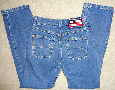 Polo Ralph Lauren Jeans Co Denim Jeans School Boys Size 8