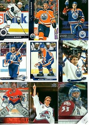 2019-20Upper Deck 30 Years of UD Gretzky - McDavid - Roy pick your singles $1ea