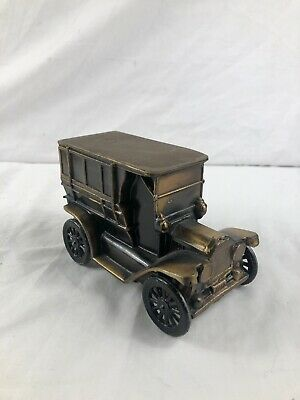 Vintage Rare 1974 Banthrico Metal Ford Car 1915 Bank