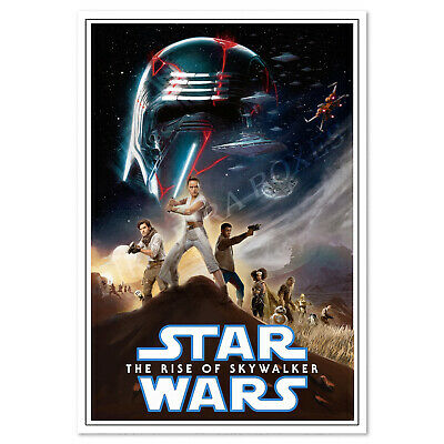 Star Wars: The Rise of Skywalker Poster - Exclusive Design - High Quality