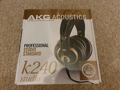 AKG K240 STUDIO Professional Semi-Open, Over-Ear Studio Headphones