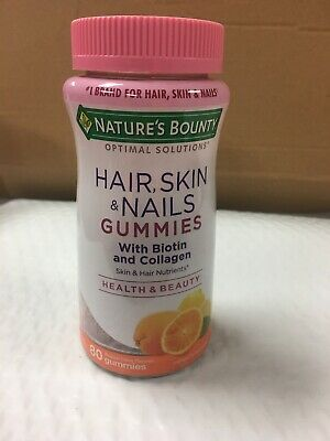 Nature S Bounty Hair Skin And Nails Plus Collagen Biotin
