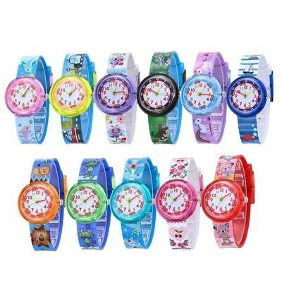 Children Kids Girls Boys Watch Unicorn Cartoon Watch Christmas Gift
