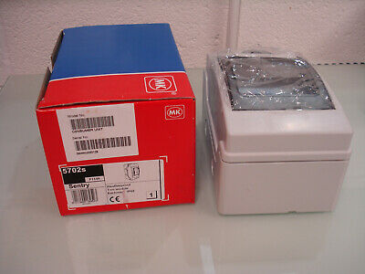 MK Sentry, 5702s Enclosure, IP65, White - UNUSED (22_U)