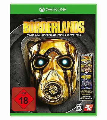 Borderlands: The Handsome Collection (Microsoft Xbox One, 2015, DVD-Box)