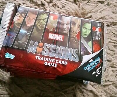 Marvel Missions Trading Cards, 20 SEALED PACKS, JOB LOT / PARTY FILLERS