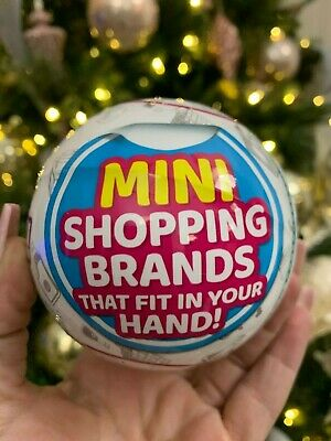 🔥🎄 5 Surprise Mini Brands 🎄🔥 1 BALL -BY ZURU 100% AUTHENTIC   HOTTEST TOY