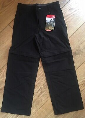 The North Face Boys Convertible Walking Trousers - Black - Size S 125-135 Cm