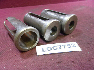 TWO .5937 ID 1.75L NEW OLDSTOCK 2 MACHINIST DRILL GUIDE JIG BUSHINGS 19//32