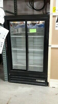 Used Beverage Air MT17 Two-Section Refrigerated Merchandiser