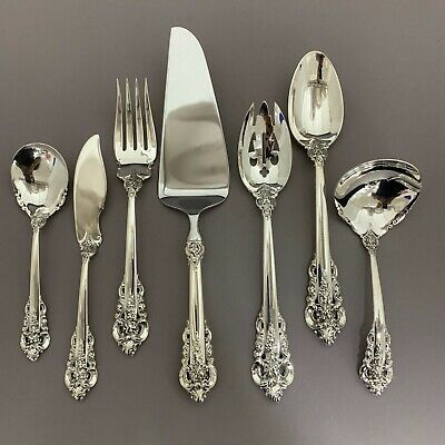 Grande Baroque by Wallace Sterling Silver Hostess Set / Serving Pieces
