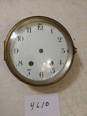 Seth Thomas Mantle Clock Porcelain Dial & Bezel & Glass From 120  Movement