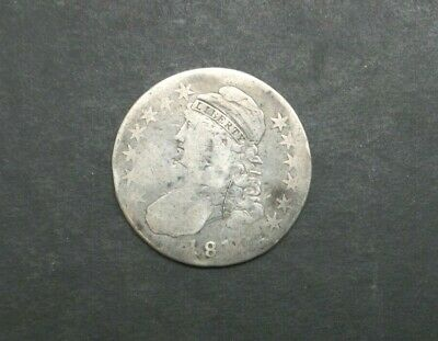 1810-P 50C Capped Bust Half Dollar SILVER US COIN M2062