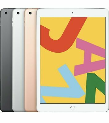 Apple iPad 7th Gen. 32GB - Wi-Fi - 10.2 in - Space Gray / Silver / Gold *SEALED*