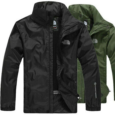 Outdoor Mens Jacket Military Waterproof Windproof Tactical Fall Soft Shell Coats