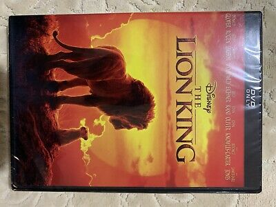 The Lion King 2019 Brand New Dvd Factory Sealed