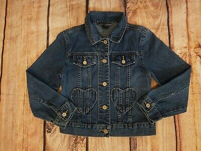 Gap Kids Blue Denim Jacket Girls M (8)