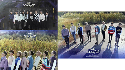 STRAY KIDS Clé Cle LEVANTER Album Official Photocard Folded Poster